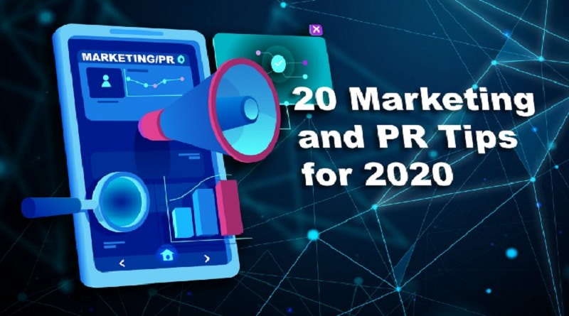 20 Marketing and PR Tips for 2020